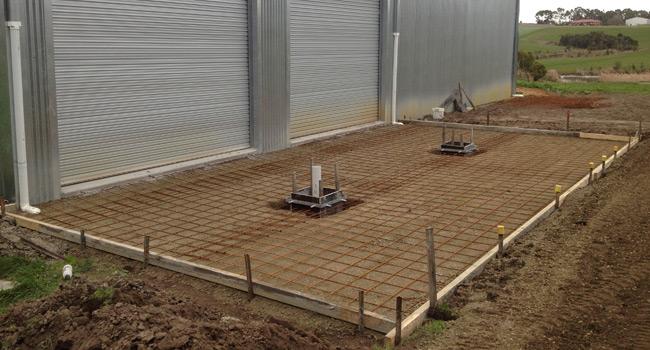 Concrete Setup