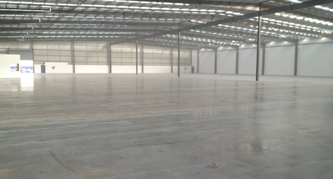 Warehouse Scrubbed and Cleaned