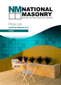 National Masonry Price List